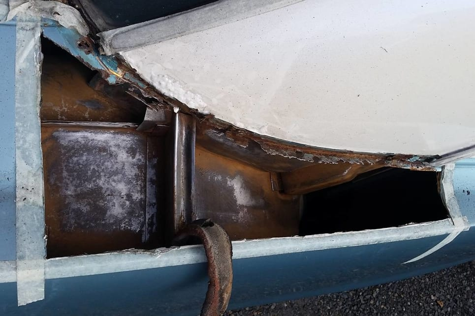 Car rust repair DIY: How to remove rust from a car - Car