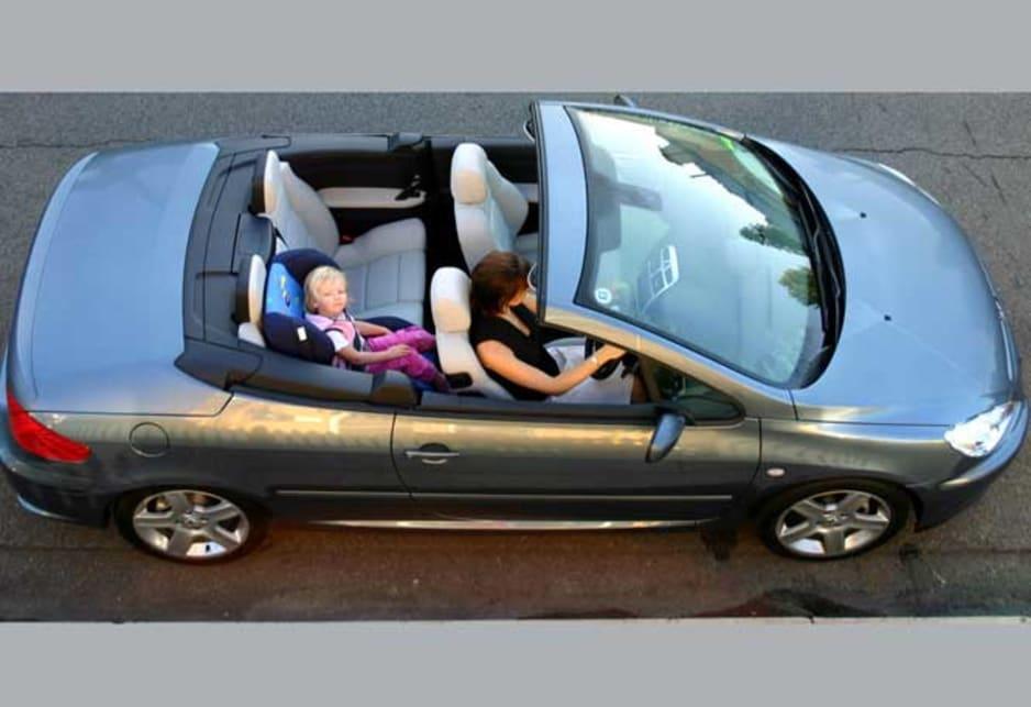 autix bagagliaio Peugeot 206/CC Cabrio 2000/ /2007