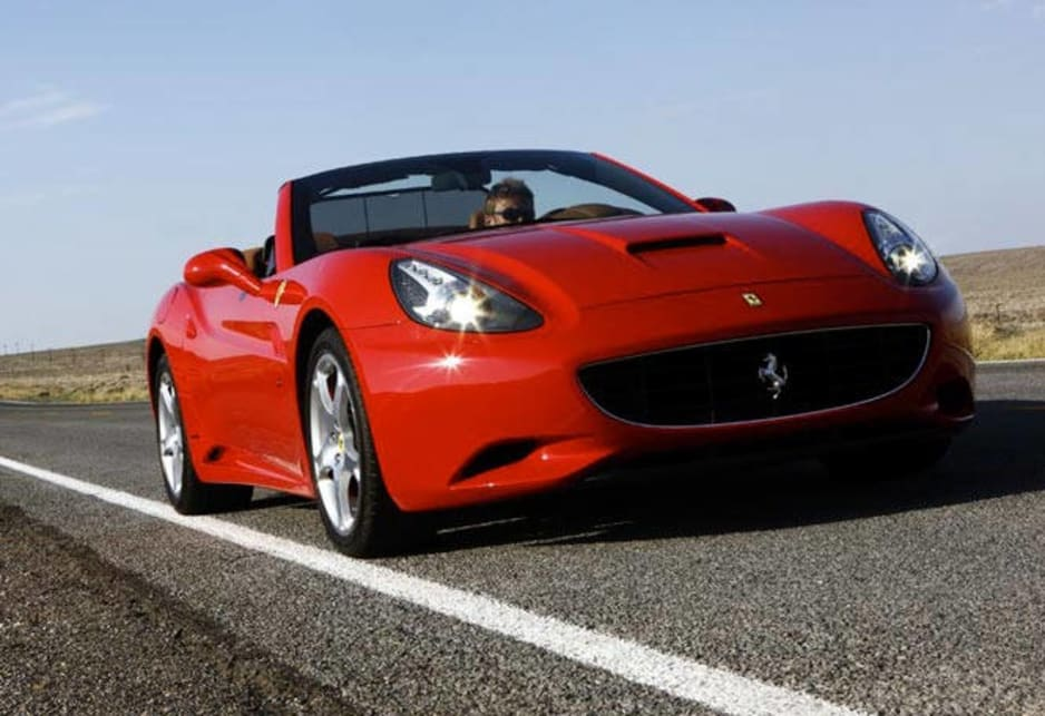 Ferrari California: first drive.