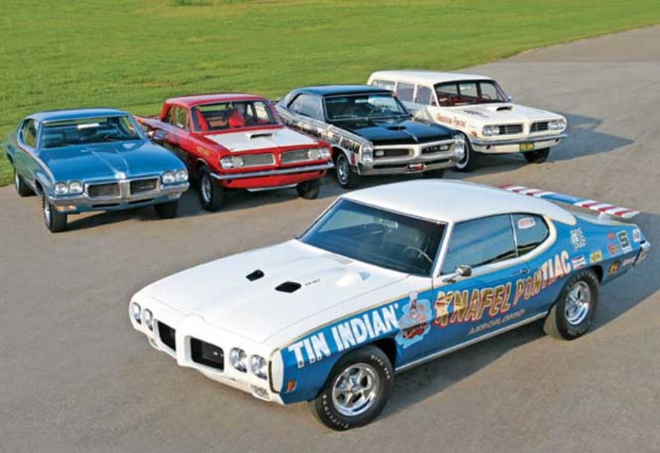 Pontiac GTO - drag car