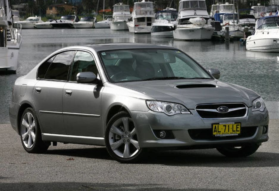 Top ten: Subaru Liberty - 35.52 points - 5 stars