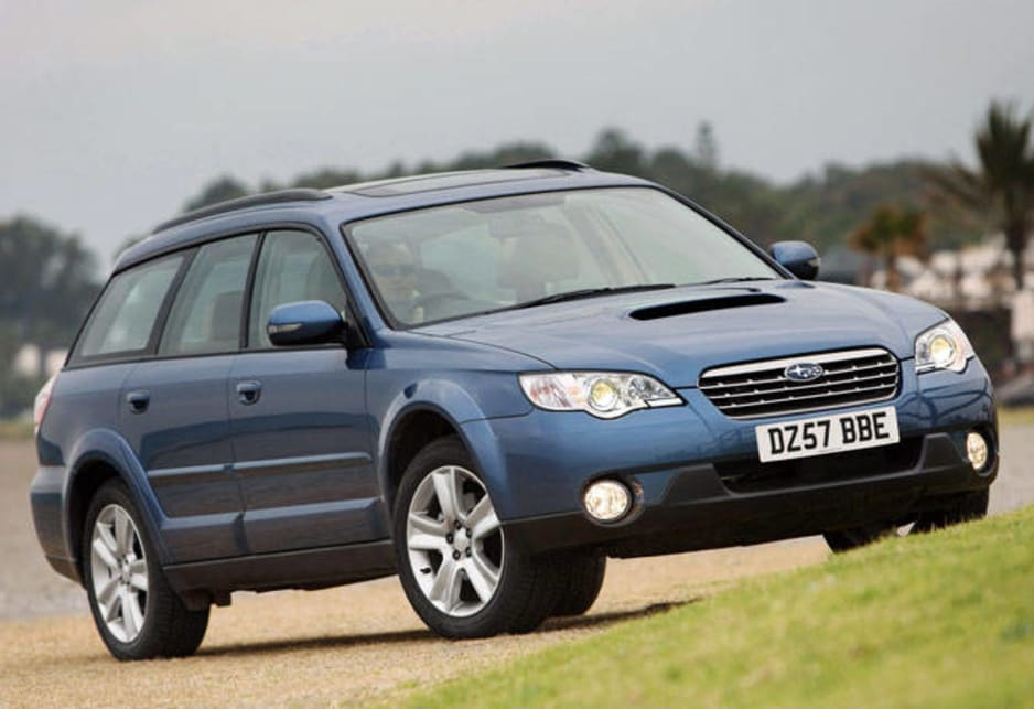 Top ten: Subaru Outback - 35.52 points - 5 stars
