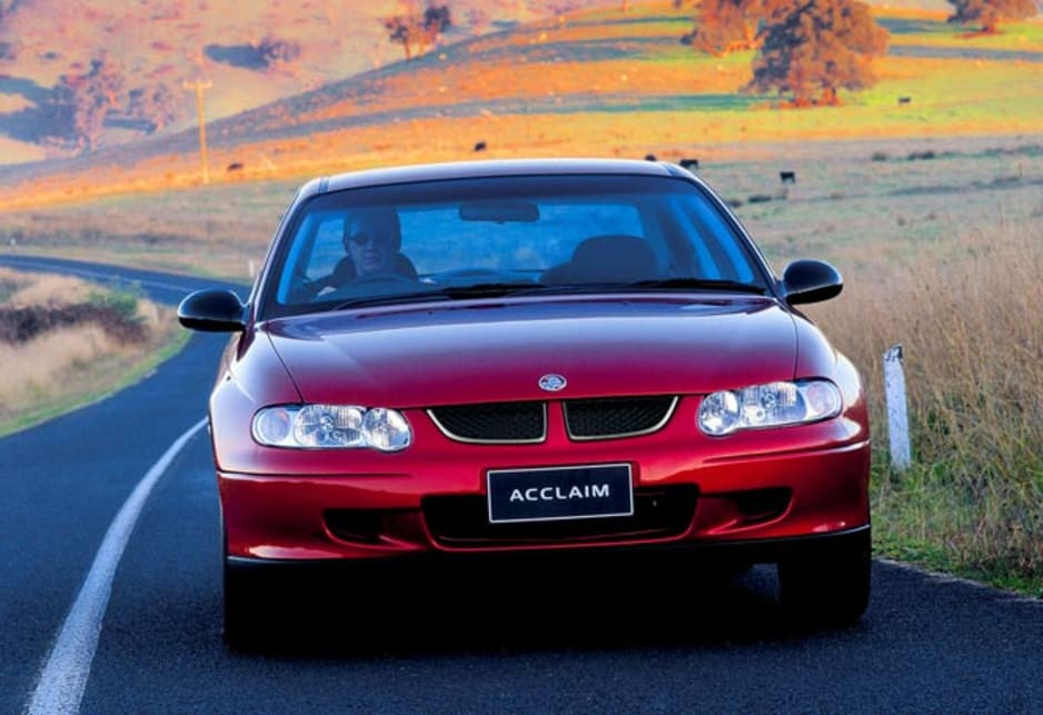 2002 Holden Commodore VX Series II Acclaim