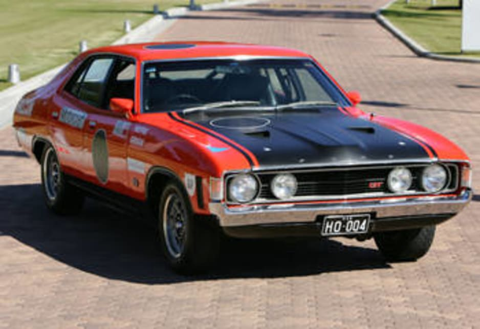 1972 Ford Falcon GTHO Phase IV.