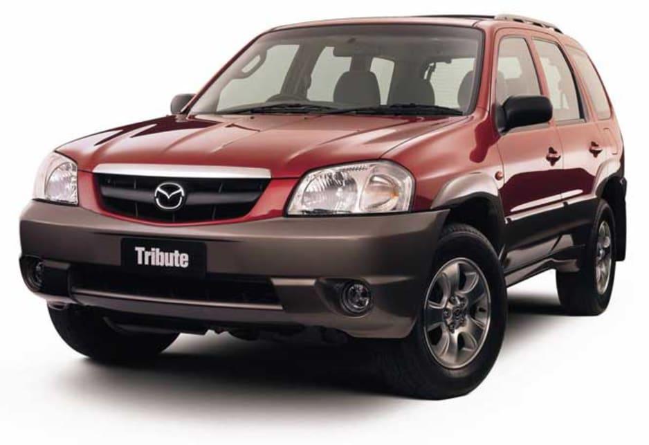 01 2001 Mazda Tribute owners manual