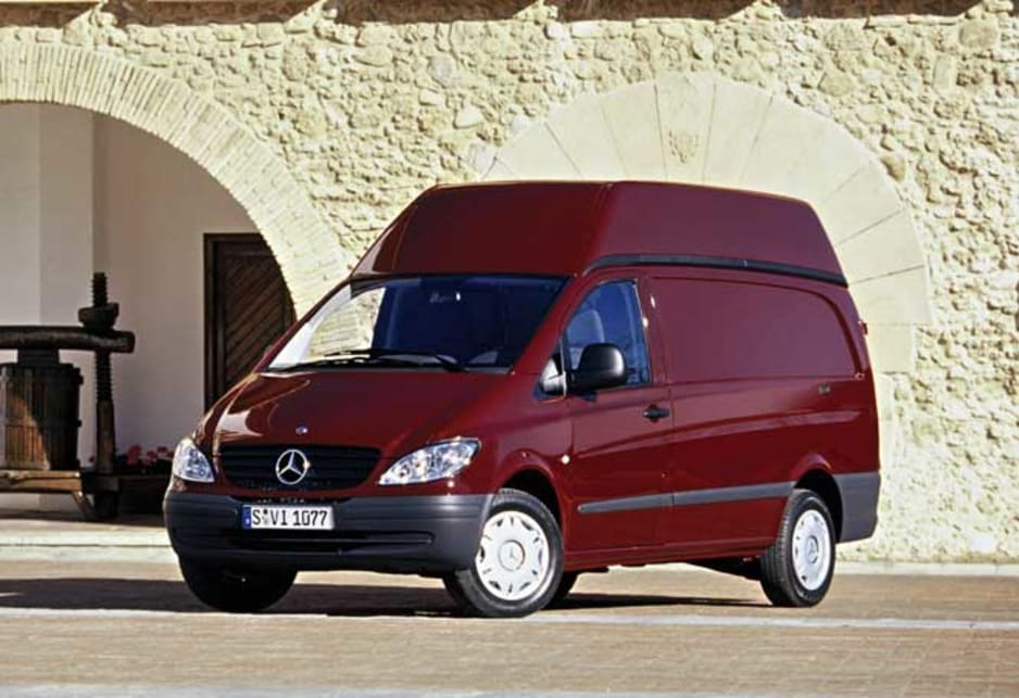 2004 Mercedes-Benz Vito high roof variant