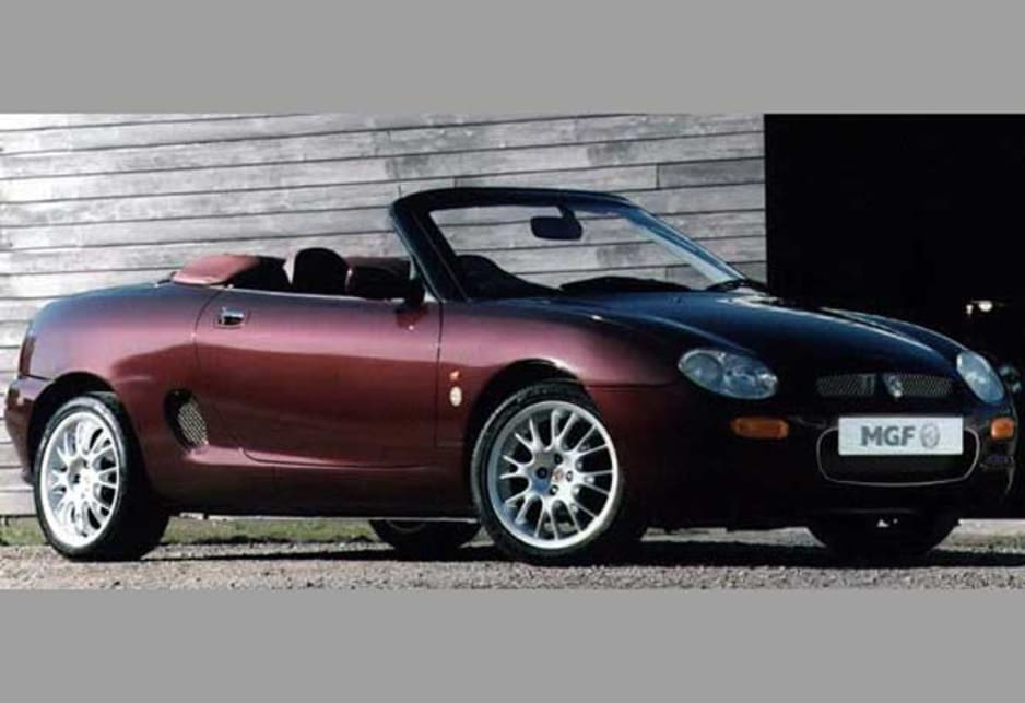 2000 MGF 75th Anniversary edition