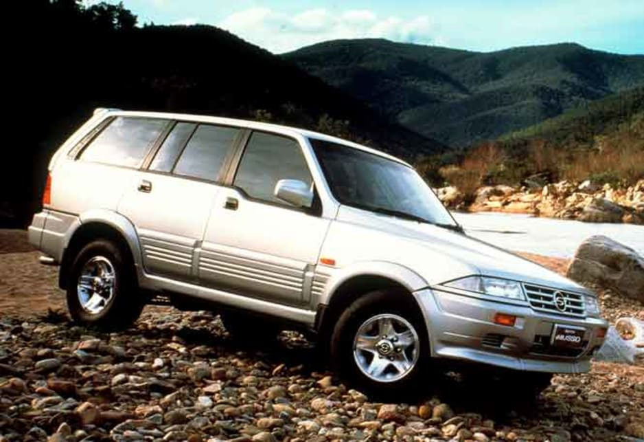 1996 Ssangyong Musso
