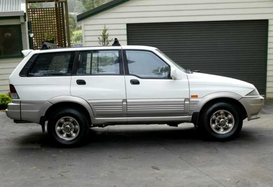 Peter Hookey's 1997 Ssangyong Musso