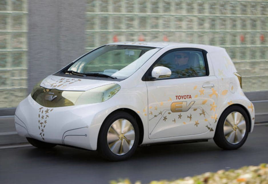 Toyota FT-EV electric car