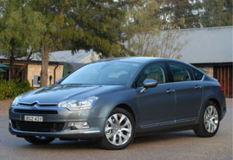The all new Citroen C5.