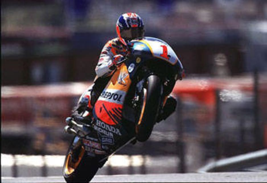 King: Doohan during his two-wheel career.