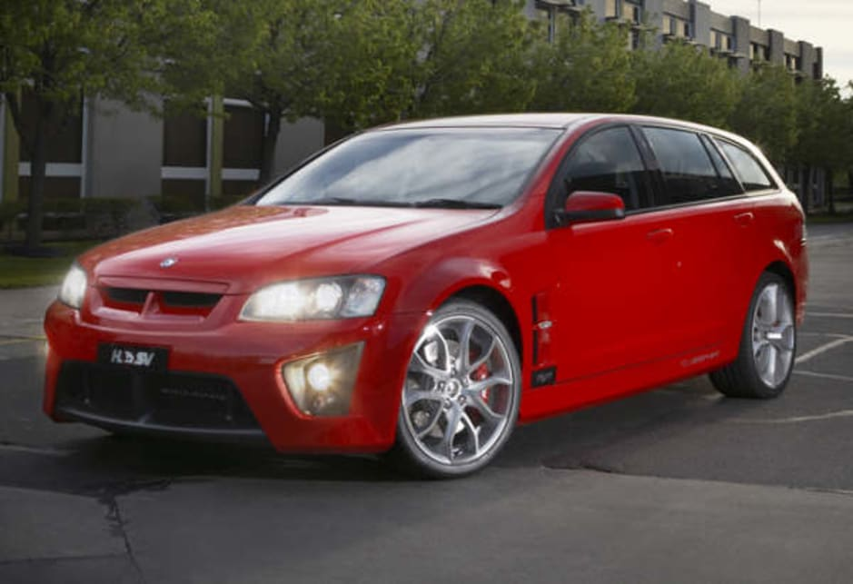 HSV ClubSport Tourer R8 front profile