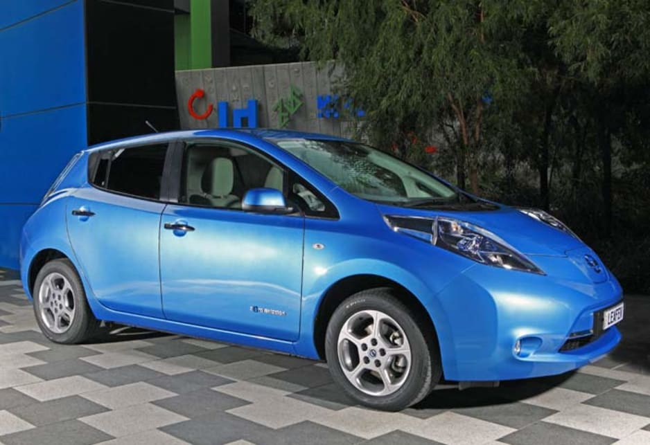 Everything about the Leaf is new and unique, from the basic body through to the lithium-ion battery pack, low-energy air-conditioning and seat trim made from recycled plastic bottles. More than 90 per cent of the car is claimed to be recyclable, and the bumpers are made from … recycled bumpers.