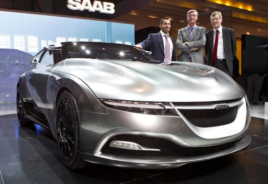 Saab Phoenix at Geneva 2011