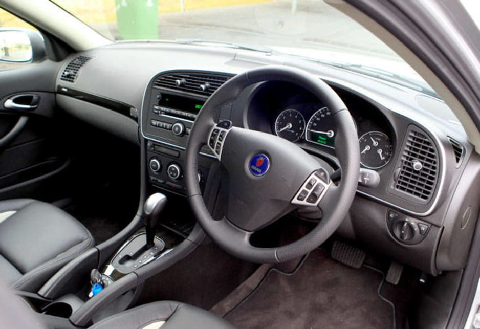 Inside style is also smooth and familiar, right down to the ignition key mounted on the transmission tunnel between the front seats. Dash and instruments are most tidy and very legible.