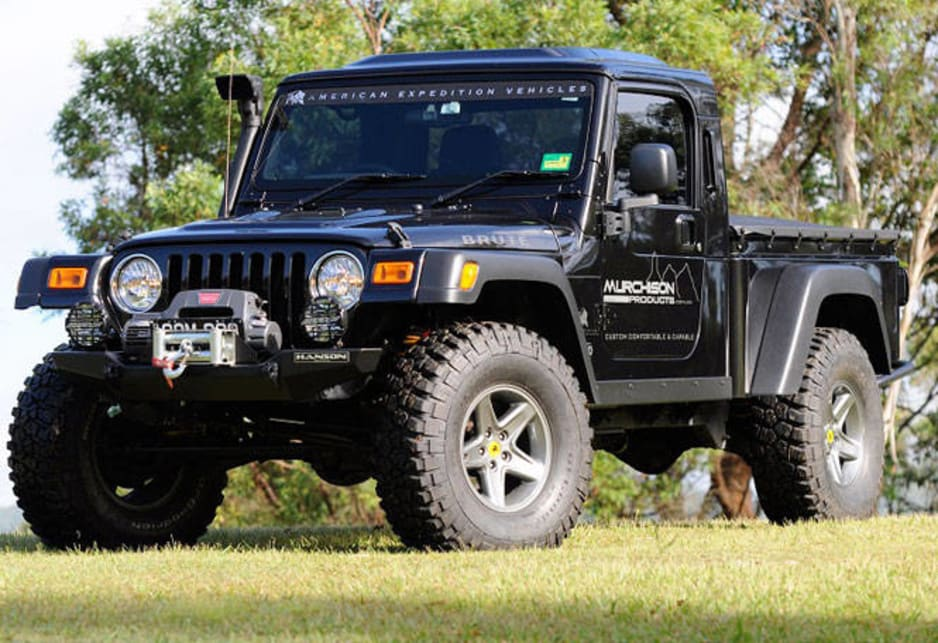 Wildest Jeep In Australia Car News Carsguide