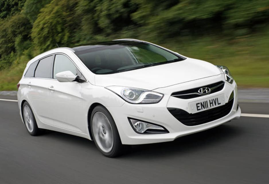 Hyundai is launching the i40 range here with the wagon this month, which will serve here as the wagon complement to the brand's i45 in the mid-size field.