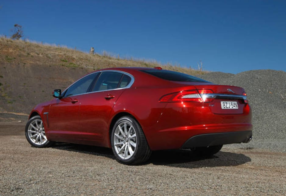 Jaguar Xf 2011 Review Carsguide