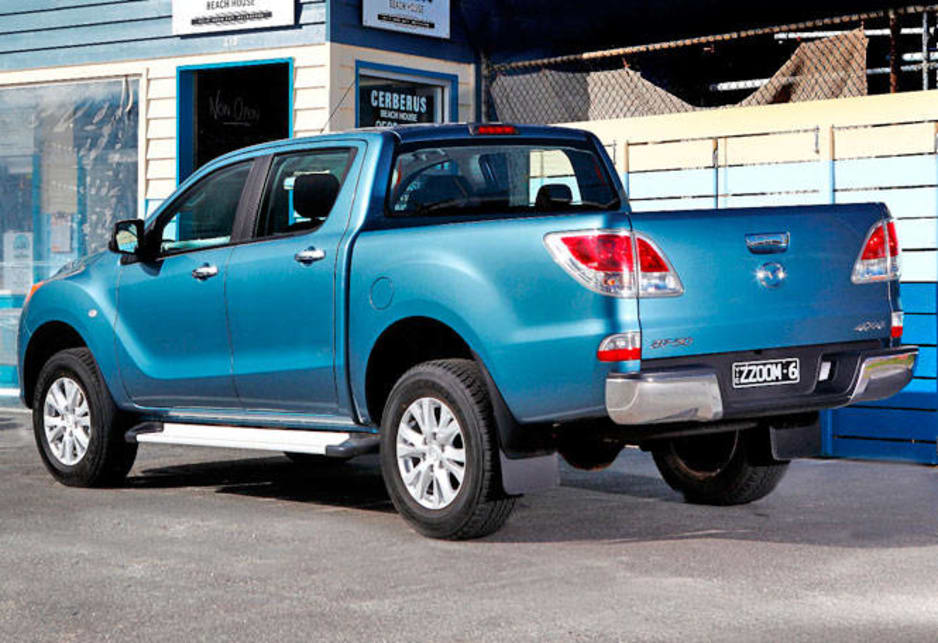 The BT50, as with its Ford Ranger counterpart, moves into this growing segment with confidence.