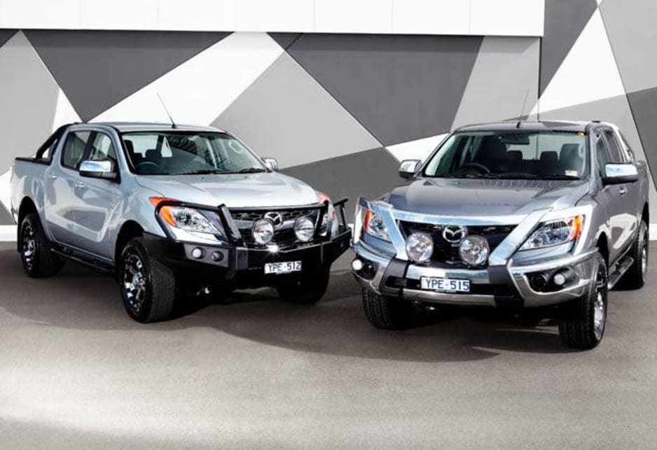 The business is still dominated by Toyota's Hilux and the Nissan Navara; now there is fresh competition at this top end of the ute market from Mazda, Ford, Volkswagen's Amarok and the forthcoming Holden Colorado.