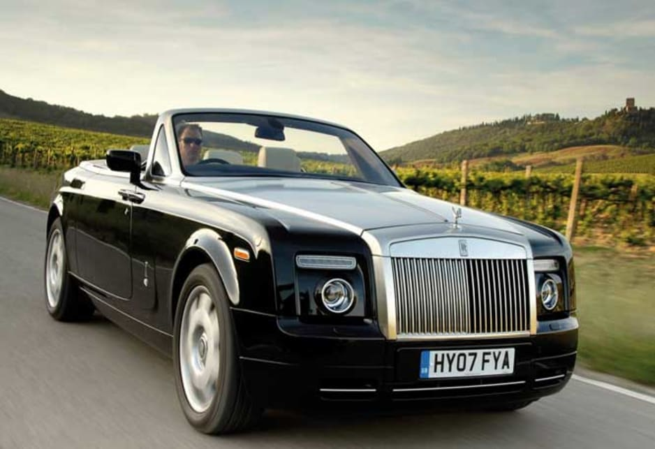 Custom Rolls-Royce Phantom Drophead