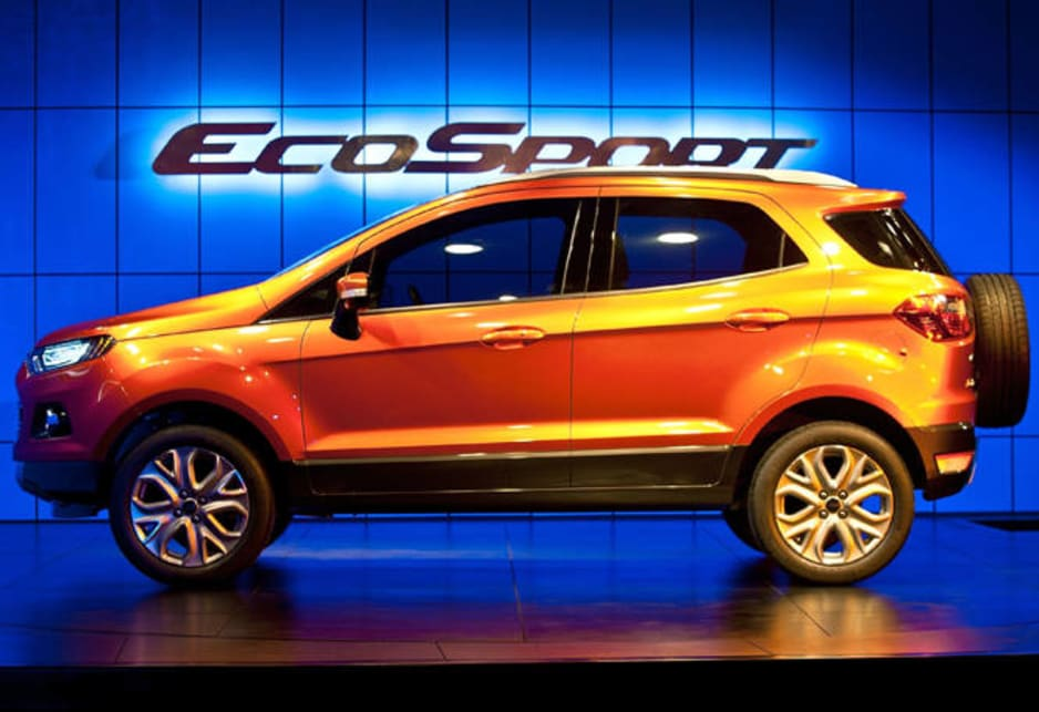 Ford Australia will also launch a mid-size SUV in March, the Kuga, which is built in Germany. In 2013, the EcoSport will be followed by a 4WD wagon based on the Ranger utility and built in Thailand.
