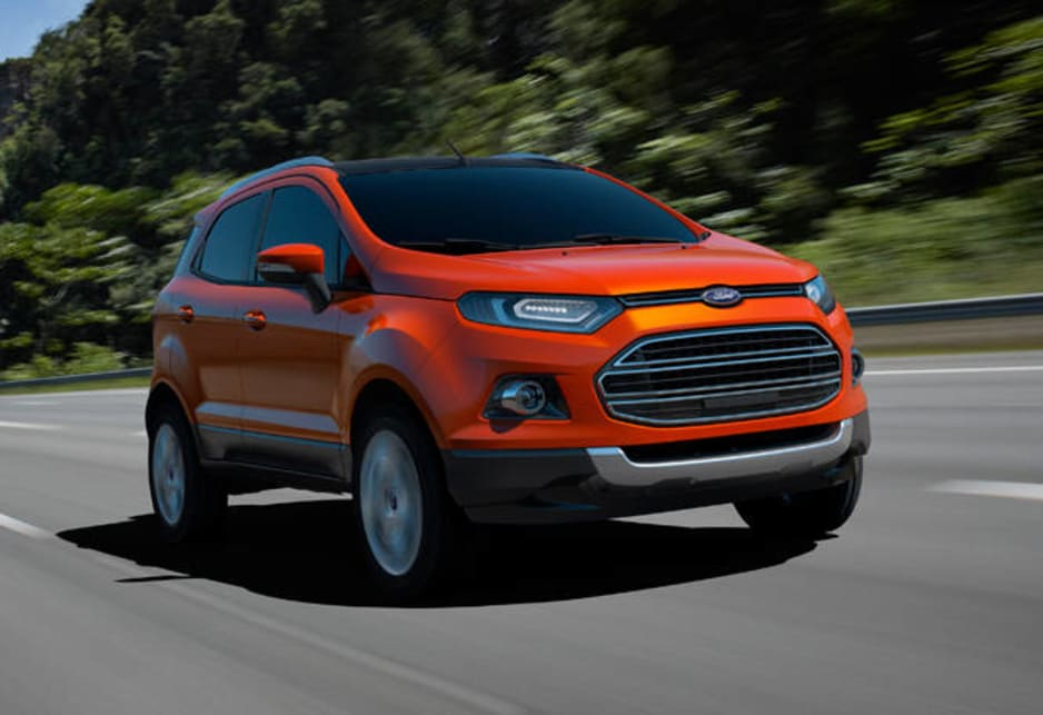 The Ford EcoSport is aimed directly at urban, style-conscious motorists who place economy, practicality and agility above off-road ability. In fact, the EcoSport will be made only with front-wheel drive.