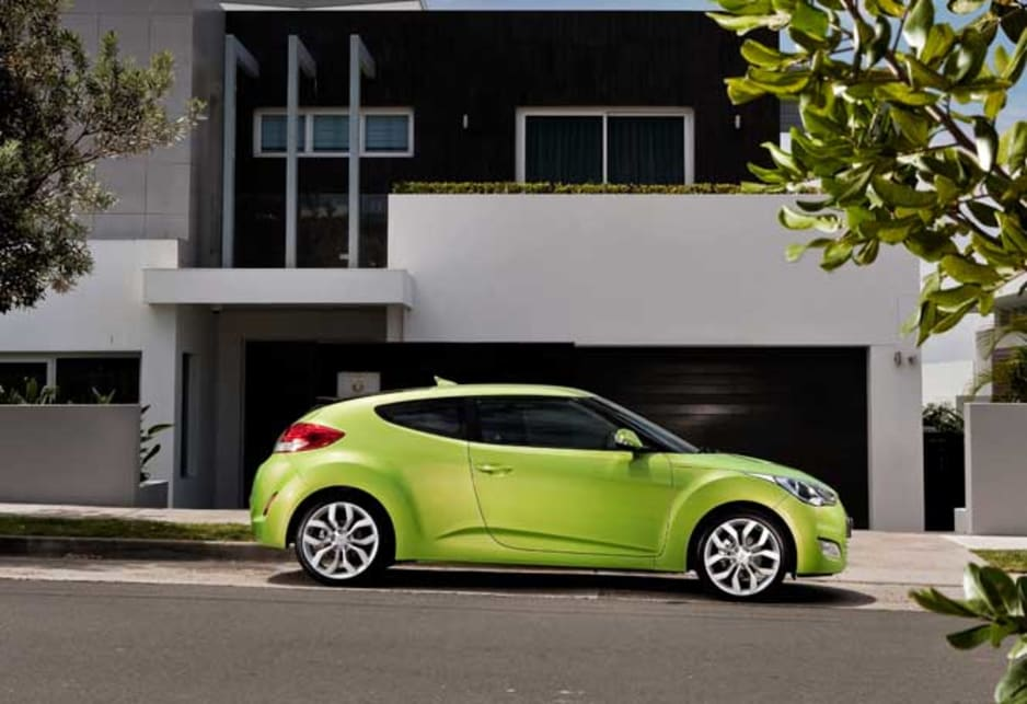 Those who don't like being stared at should steer clear of buying a Veloster.
