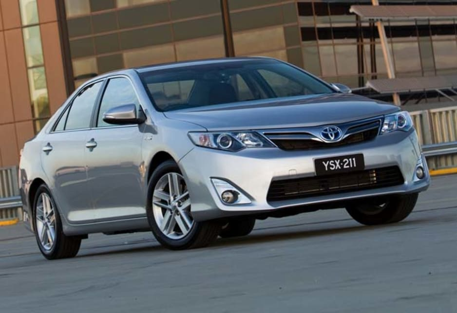 To recap, the Camry Hybrid still has a 2.5-litre four-cylinder petrol engine under the bonnet, but the electric motor gives it a boost to move from rest, which is when cars typically use most energy.