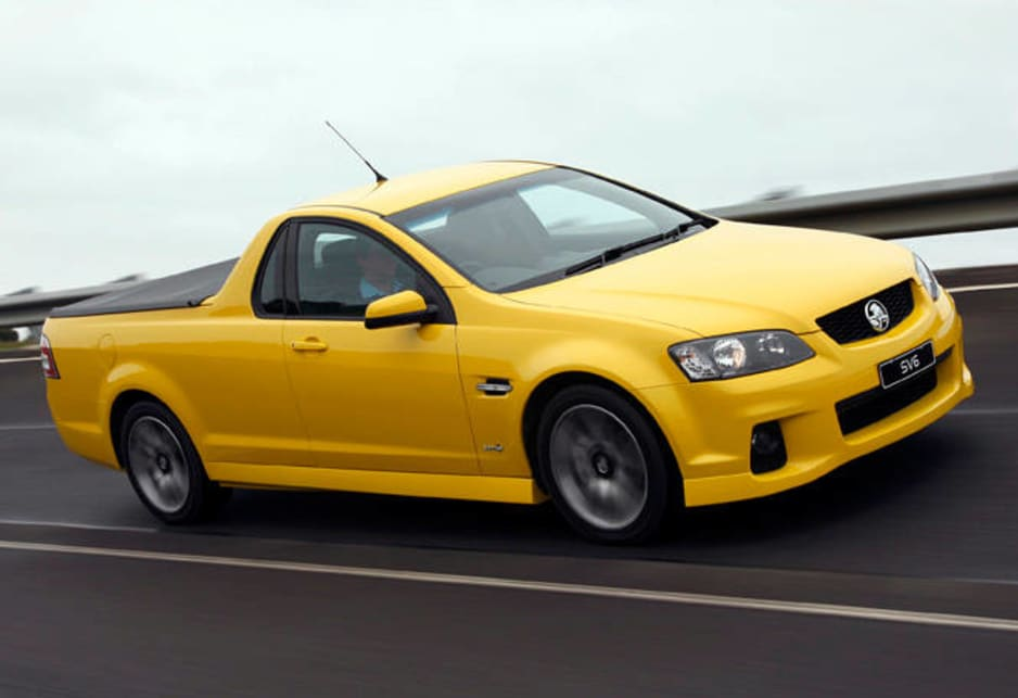 Holden Commodore SV6 ute 2011 review | CarsGuide