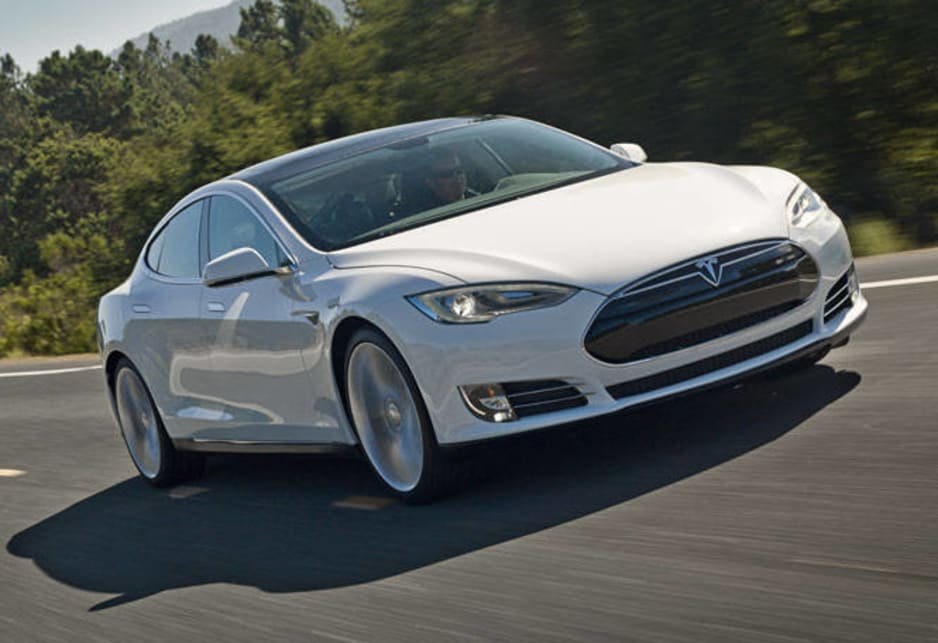 The five-seater Model S began deliveries in the US from June 2012 at just under $60,000.