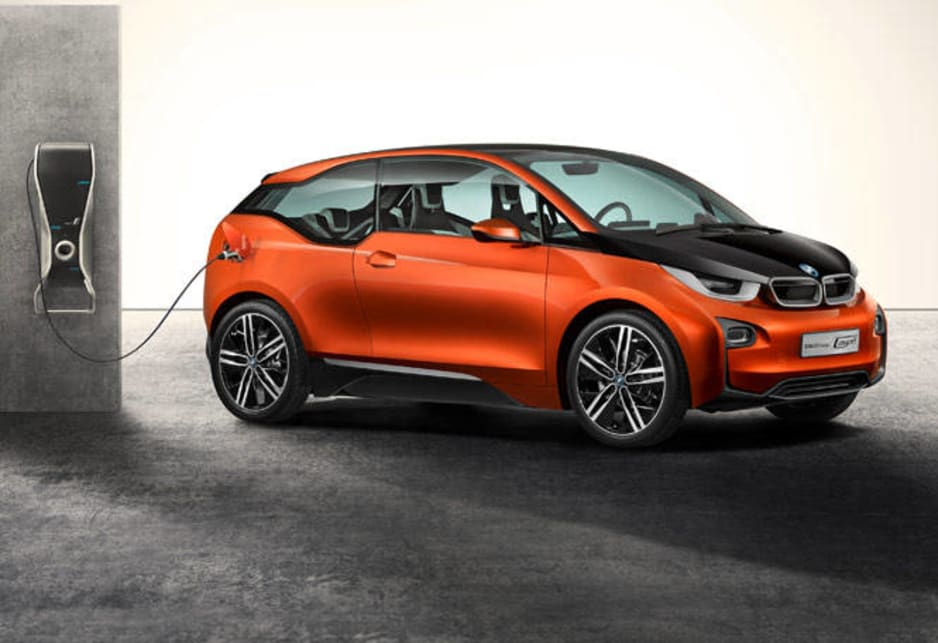 BMW says the i3 at Geneva offers longer range and shorter charge times than the average electric car.