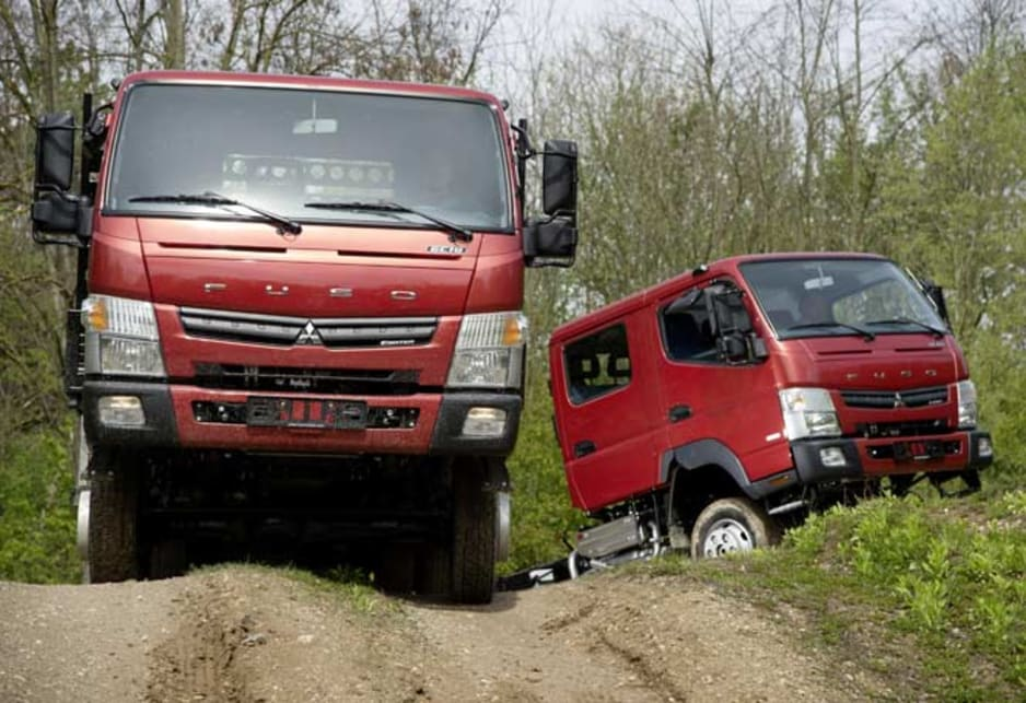 Mitsubishi Fuso Canter 4x4 dual-range returns - Car News