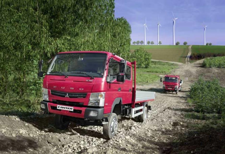 Mitsubishi Fuso Canter 4x4 dual-range returns - Car News