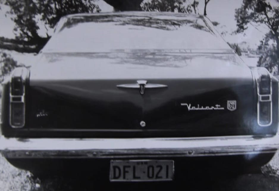 Rather than advertise, he decided to build an attention getting car, which would show off his skills. Tony decided to build a 4 door Barracuda, using a local Valiant as a base.