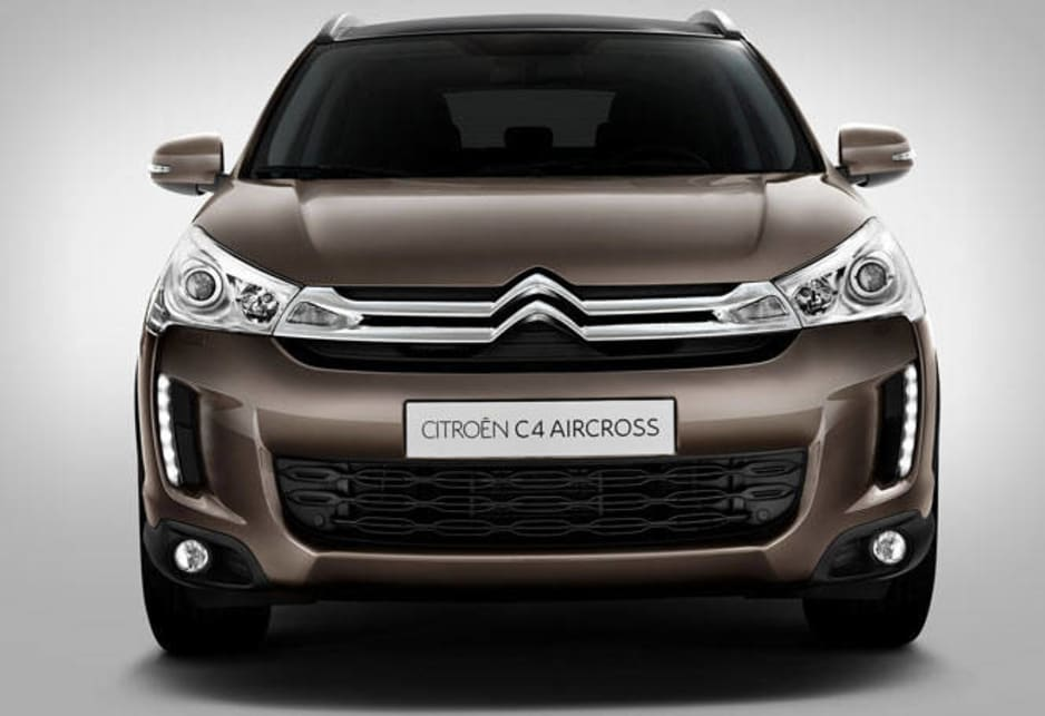 The handsome styling of AirCross draws upon Citroen's curent DNA.