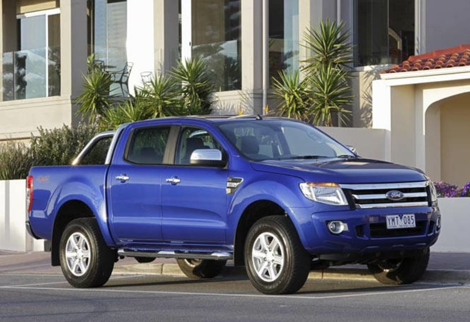 Give-me-room looks and a turbodiesel engine that's the equal of anything in its class makes the Ford Ranger XLT worth a drive for potential four-wheel drive utility owners.