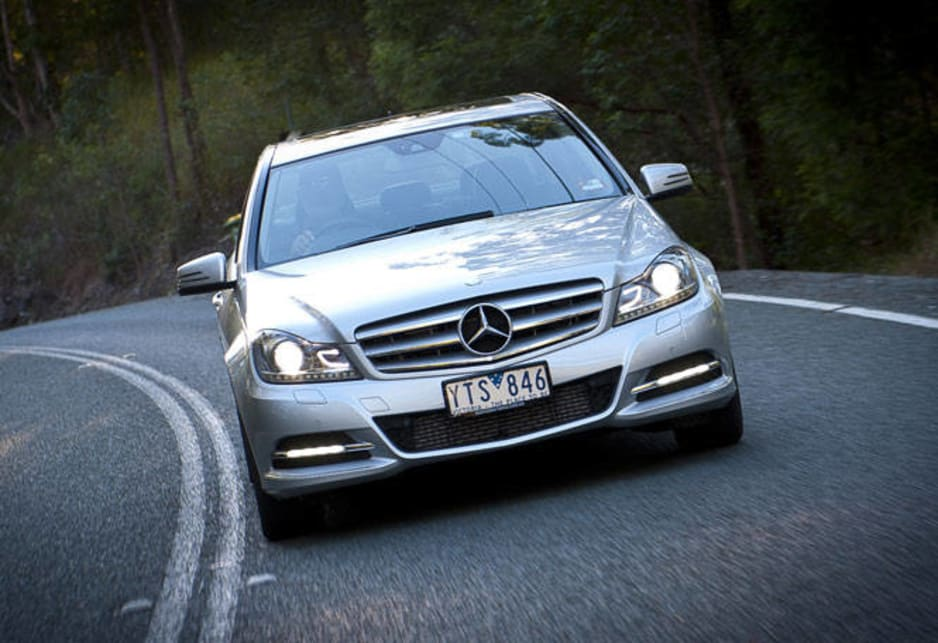 Mercedes has the longest service intervals of 25,000 kilometres, which counts with potential service costs. At the other end resale values are fairly similar. BMW is the leader, retaining 53 per cent of its value after three years according to Glass's Guide, followed by Benz and Lexus at 52 per cent and Audi at 50 per cent.