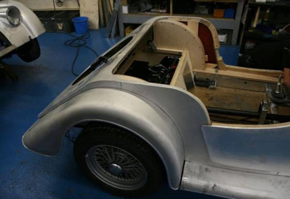 Morgan Motor Company - Making cars from wood.