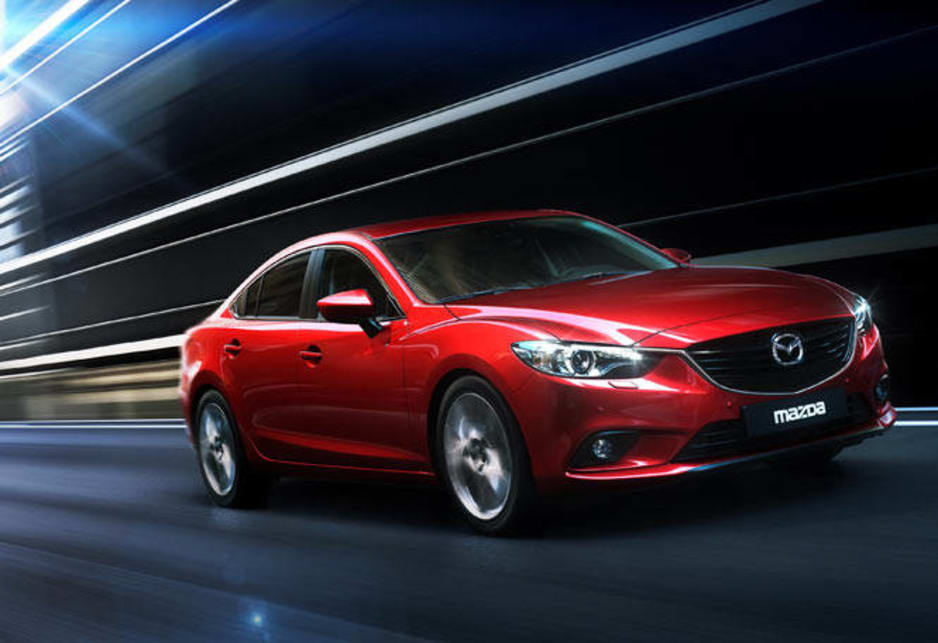Meet the next Mazda6. The coolest mid-size car since, well... the first Mazda6.