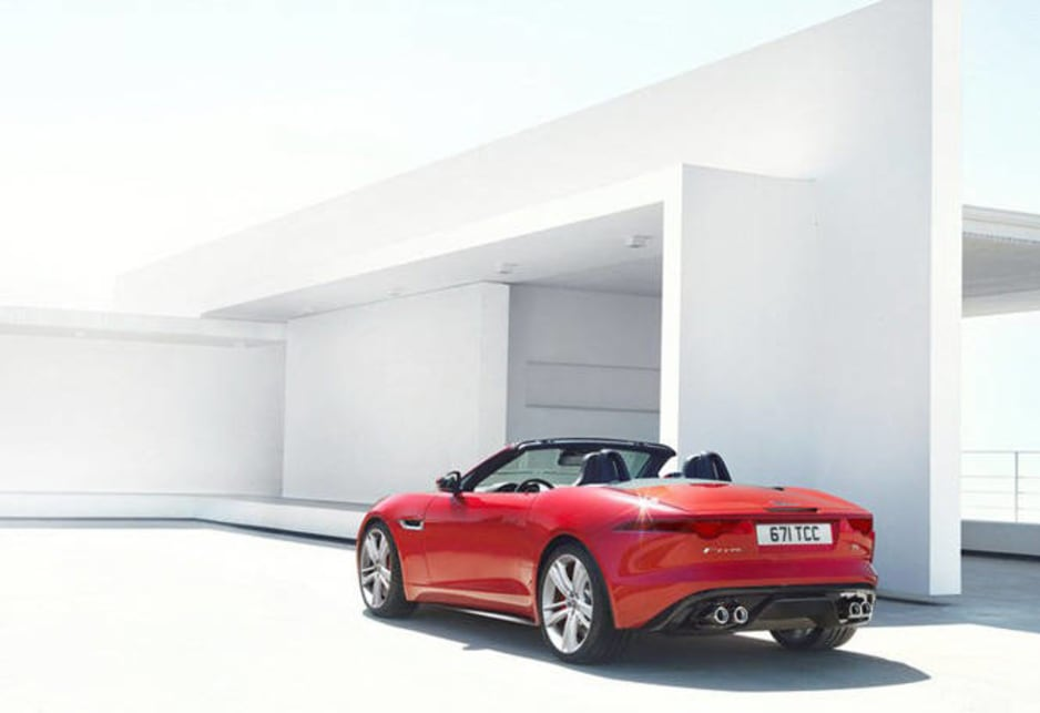 Jaguar F-Type leaked