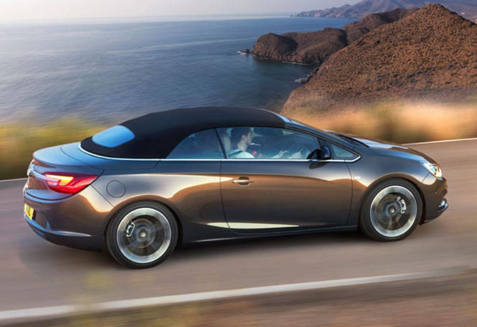 Opel Australia hasn't committed itself to the car but it's on the wish list.