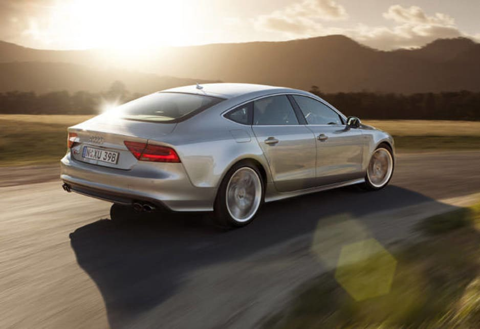 Now the Audi S7 is available for the throng of happy drivers over there.