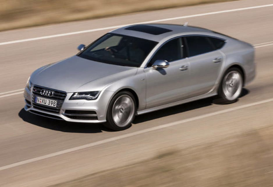 Audi has added appeal to its big four-door A7 coupe by developing a high-performance S7 to the range.
