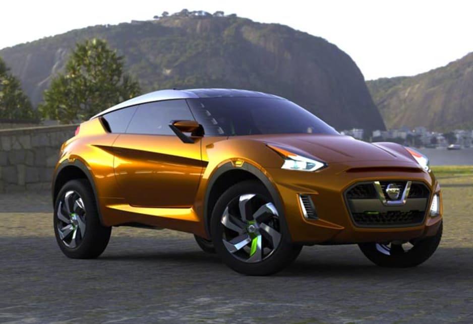 "Nissan's Extrem ""urban compact sports car"" concept gives a glimpse of future Juke styling."