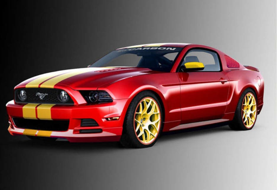 Ford Mustang 'Boy Racer' by 3dCarbon.