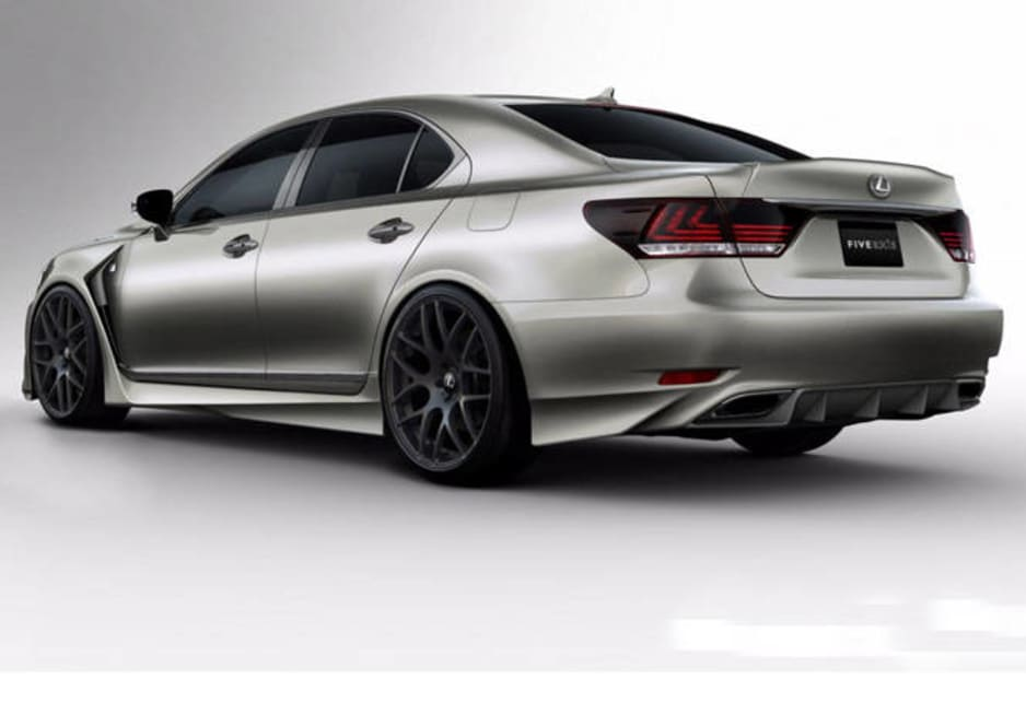 Lexus LS460 F-Sport by Five Axis.