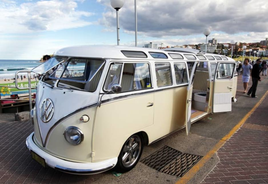 A Volkswagen Kombi is a great starting point for a stretch limousine.