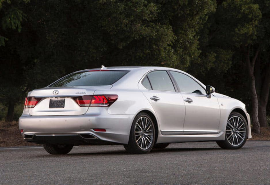 Lexus LS460 and LS600h